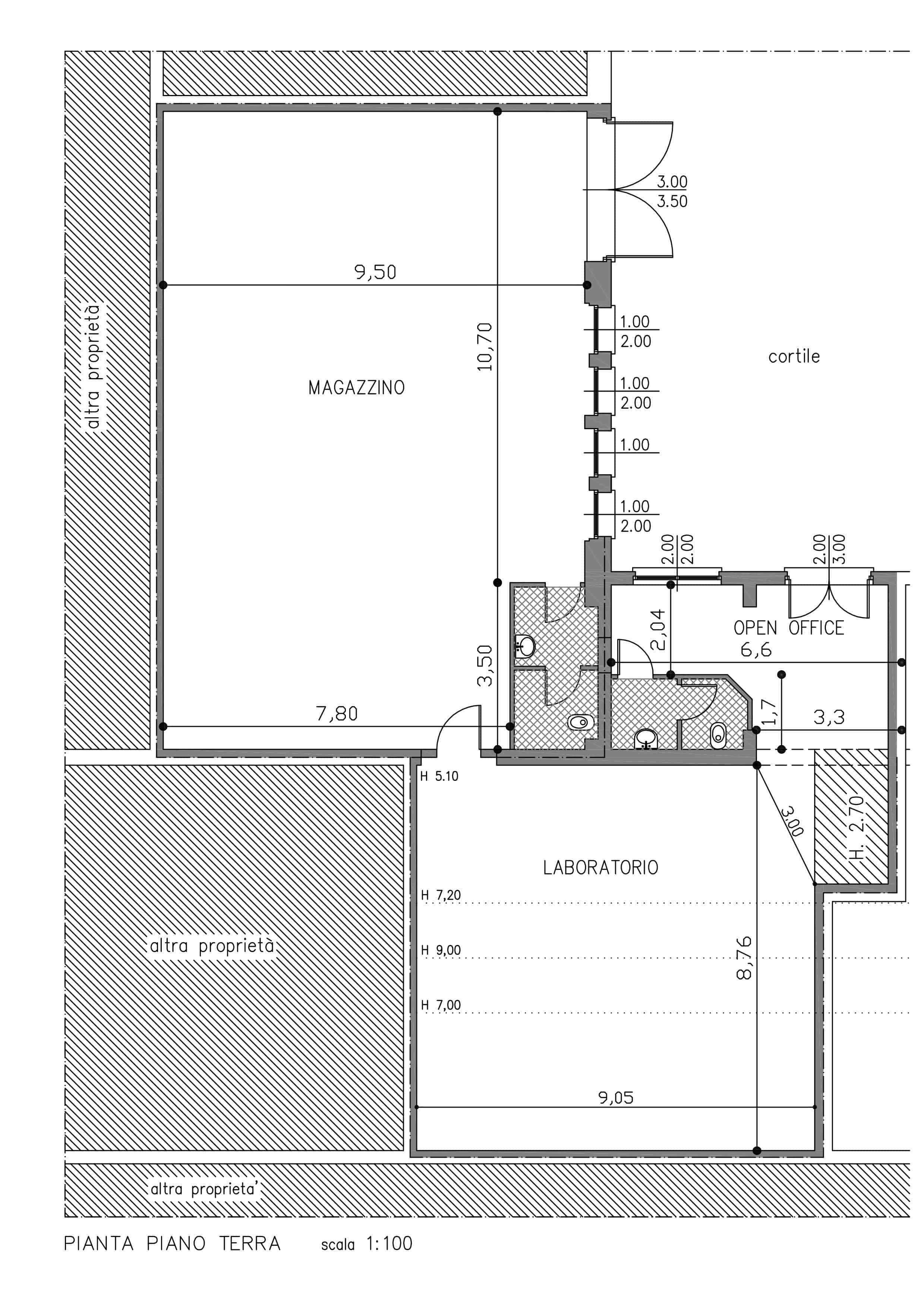 Planimetria Vander Studio