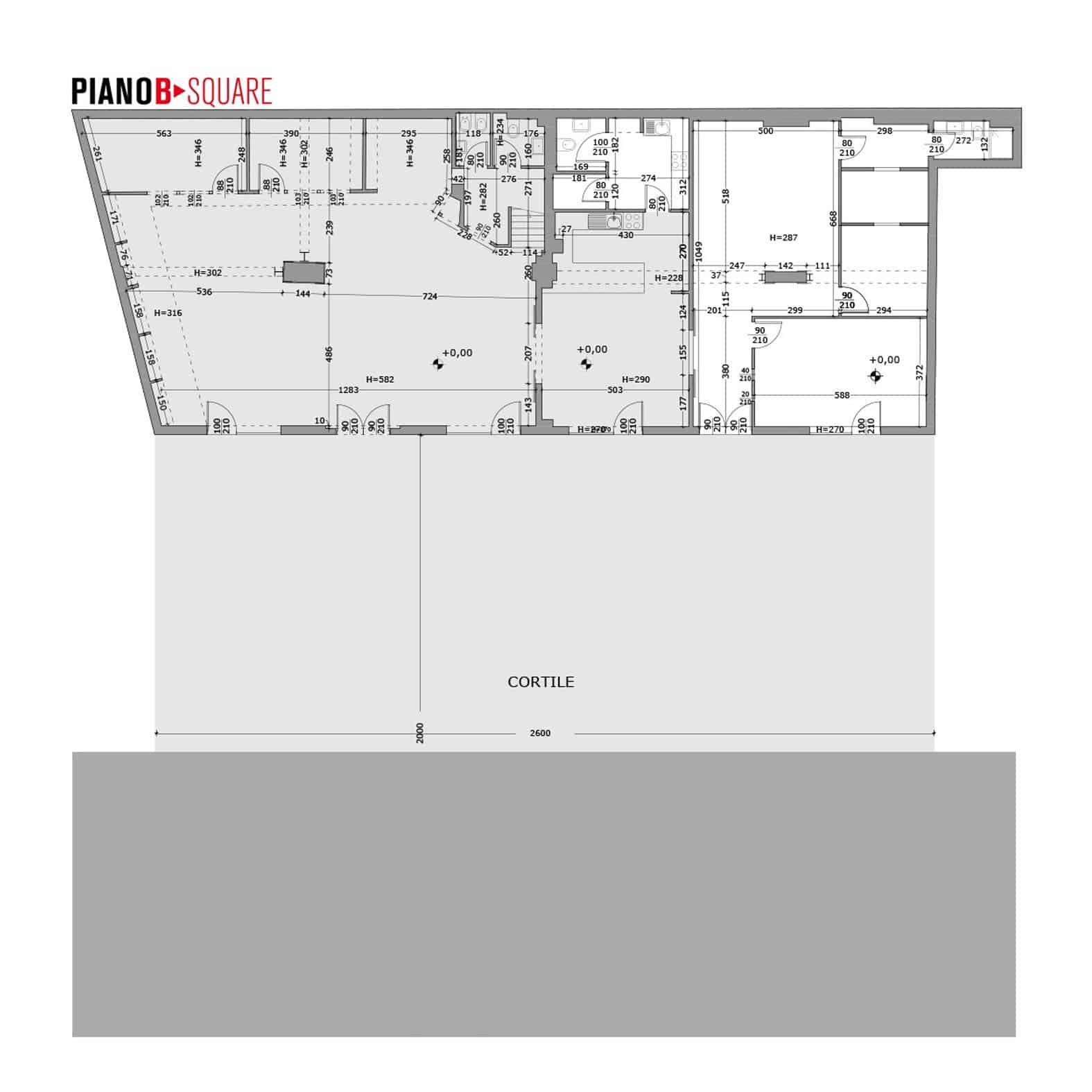 Planimetria Piano B