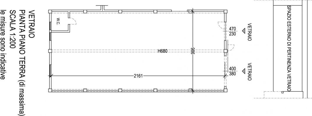 Planimetria Vetraio-Opificio 31