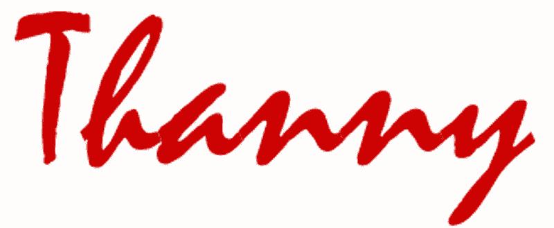 THANNY – Moda donna Settembre 2017