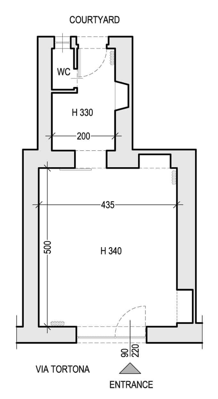 Planimetria Tortona Gallery