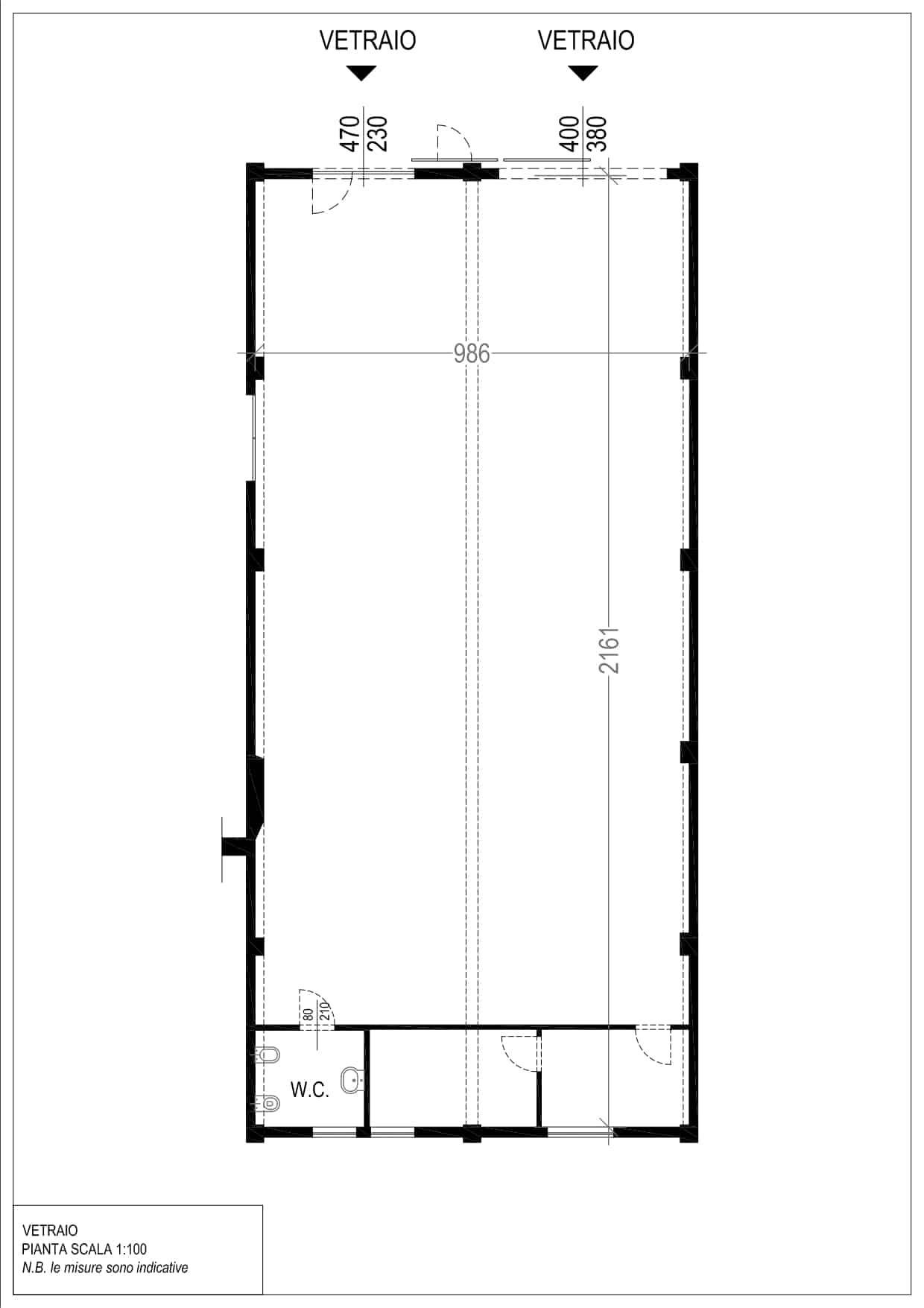 Planimetria Vetraio