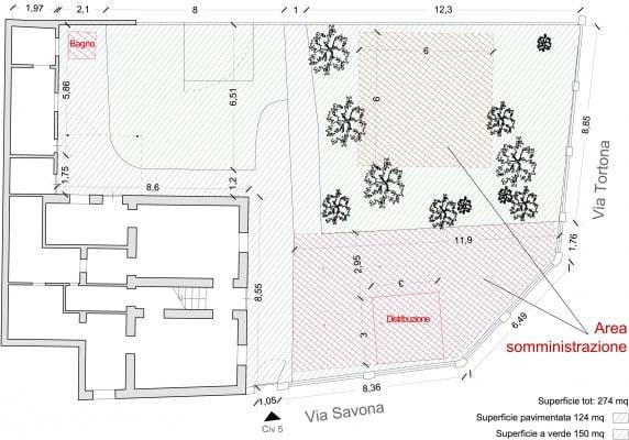 Planimetria Casello Giallo