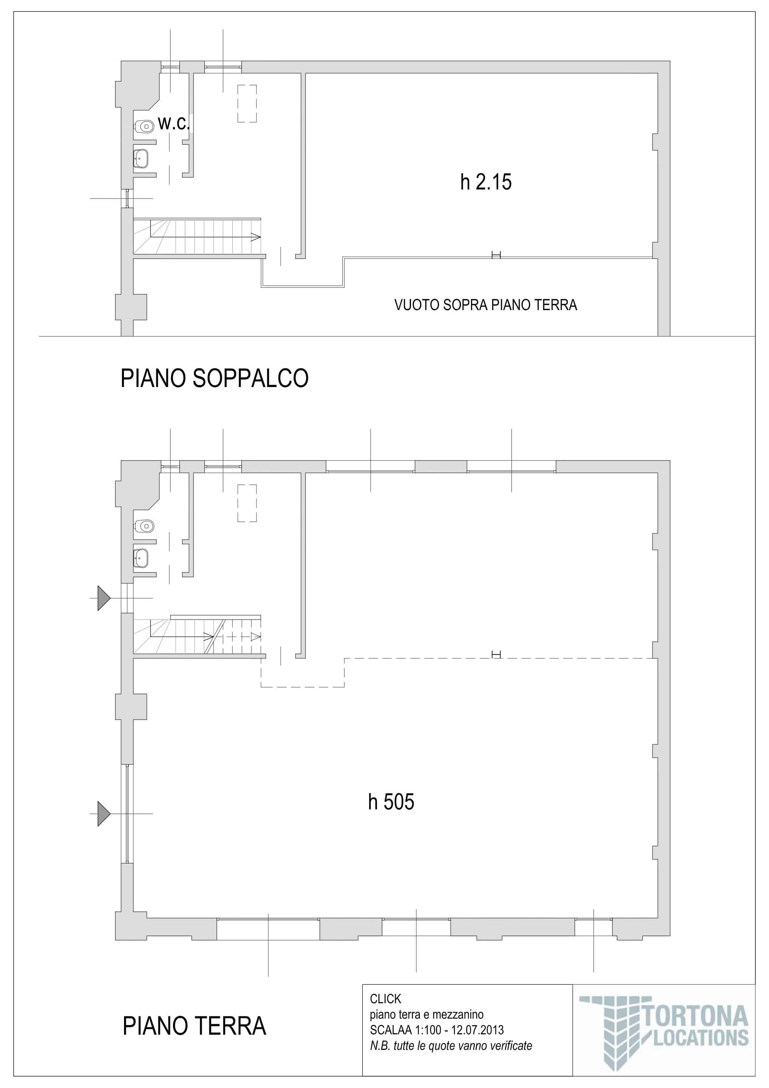 Planimetria Studio Selva