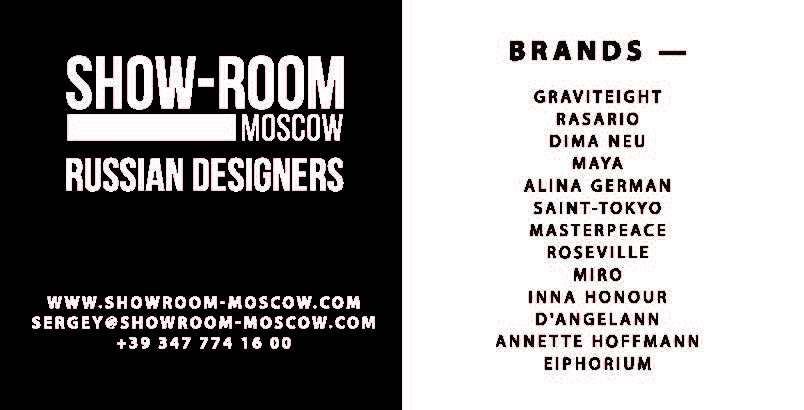 MOSCOW SHOWROOM – Moda Donna Settembre 2017