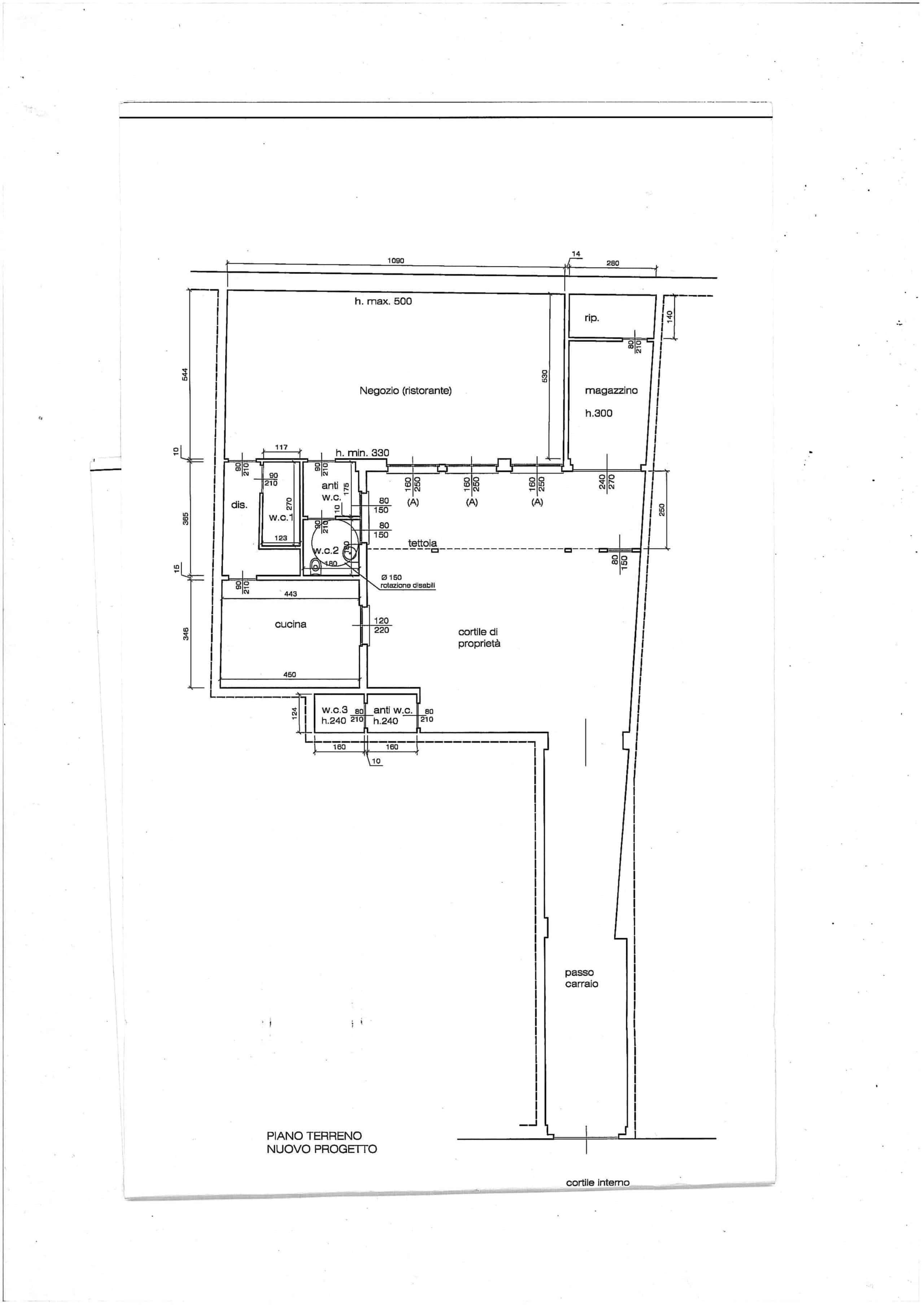 Planimetria Spazio Home
