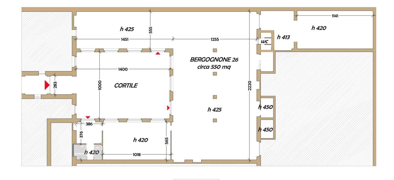 Planimetria Spazio Bergognone