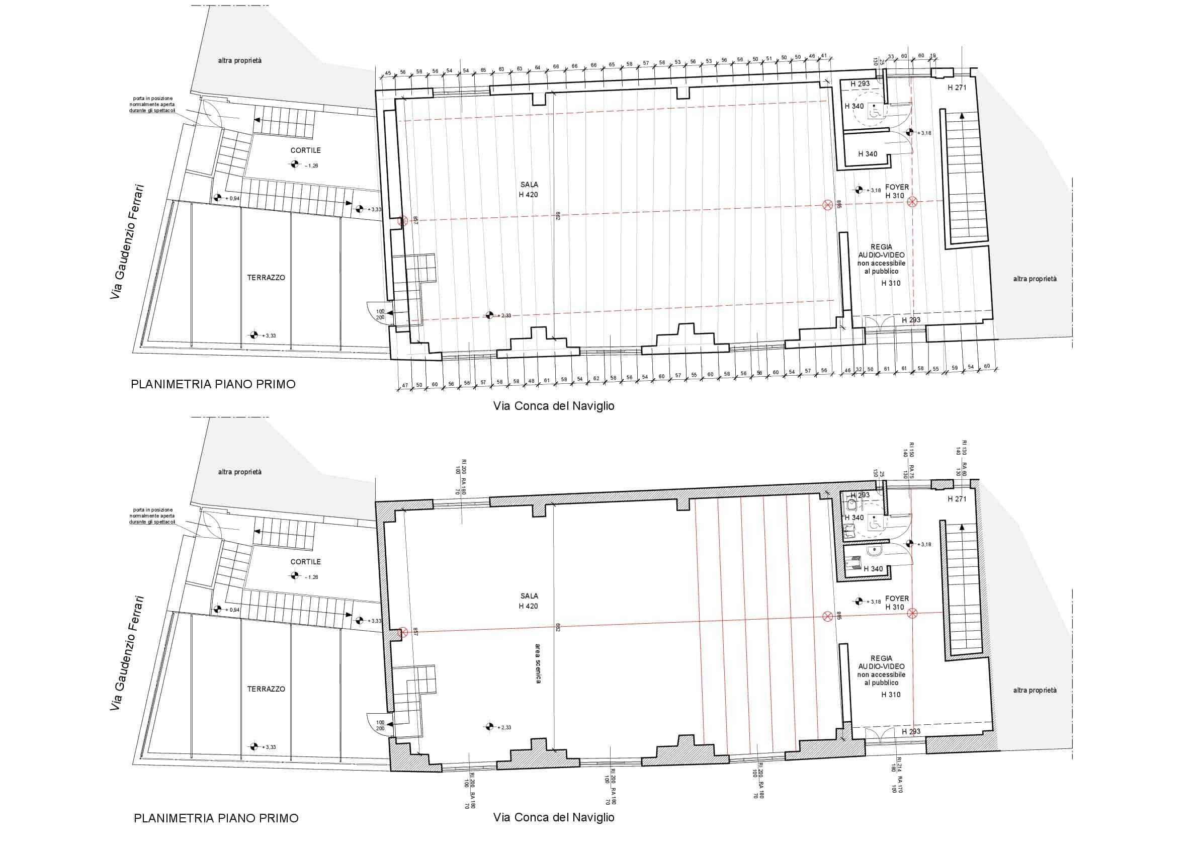 Planimetria Teatro I