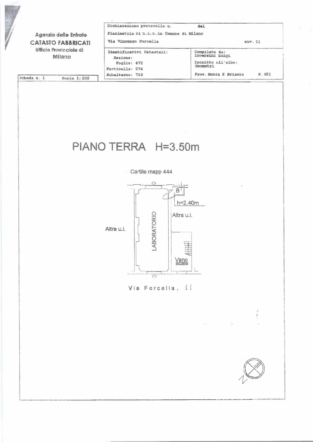 Planimetria Spazio UK