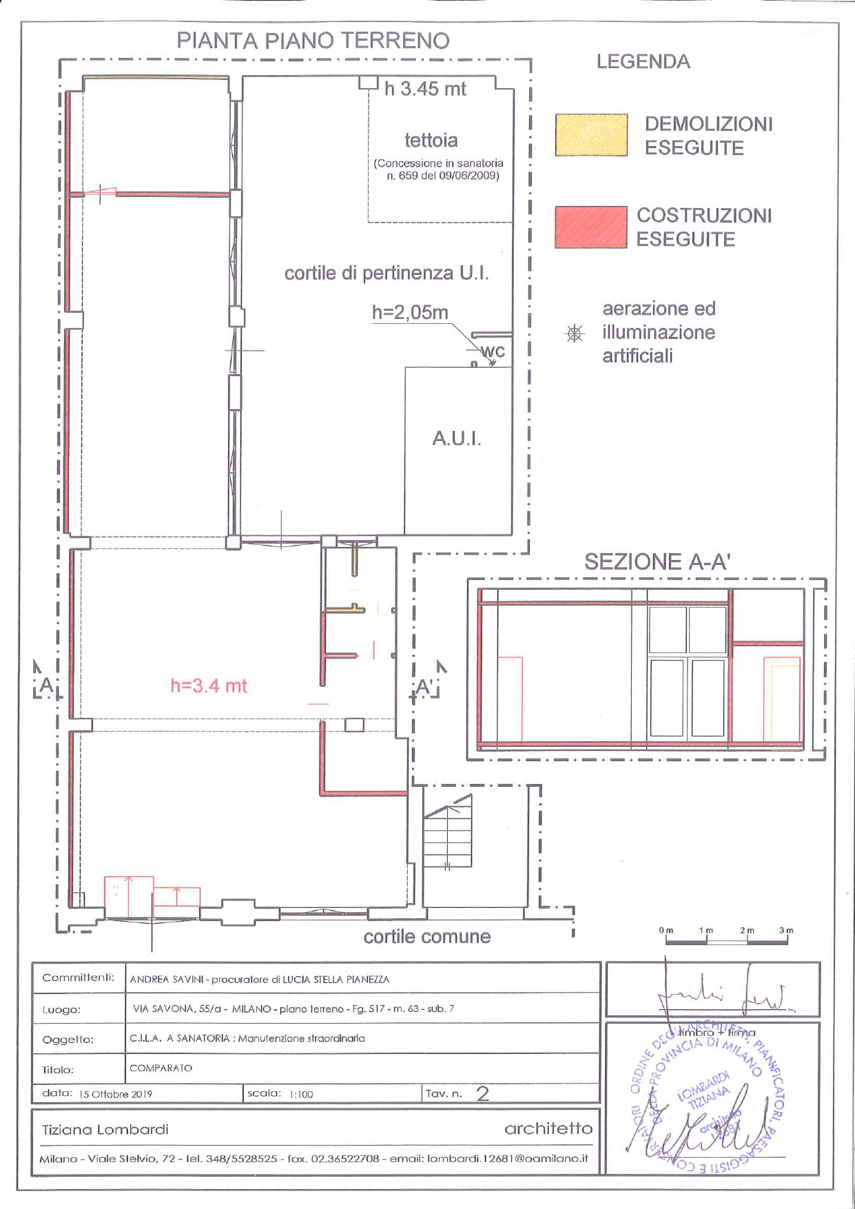 Plan Showroom Savona